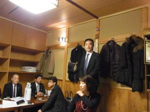 新橋「お多幸」店主 柿野監査より 挨拶