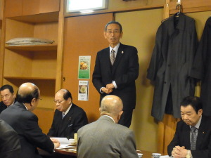 川口副理事長 開会の言葉