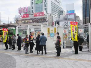 蒲田駅前(西口)